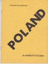 Poland - Leaflet Socialist Unity Party New Zealand 1987 - Marilyn Tucker - Rare