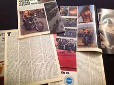 HELLS ANGELS ARTICLES  1983 DISBOUND MAGAZINE