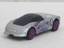 Buick Wildcat 1 in silber/schwarz mit Dekorstreifen, ohne OVP, Hot Wheels, 1:64