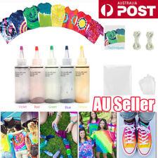 5pcs Tulip One Step Tie Dye Kit Vibrant Fabric Textile Permanent Paint Colours N