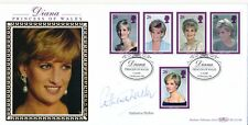 1998 Benham First Day Cover Princes of Wales signed by Catherine Walker