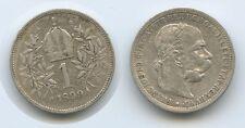 G4303 - Österreich Wien 1 Krone 1899 KM#2804 Silber Franz Joseph I.1848-1916
