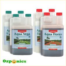 CANNA 1l Nutrients Aqua Vega Flores Recirculation System Hydroponics Kit
