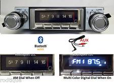 1968 Chevelle El Camino Bluetooth Stereo Radio Multi Color Display USA 740
