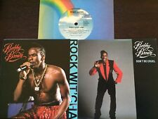 """BOBBY BROWN  - - Rare Collection of 3 Australian 7"""" Records - EXC/NM"""