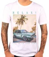 """T-Shirt GTI MK1 Oldtimer  """"RELAX"""" - weiß - Herren - Gr. 2XL"""
