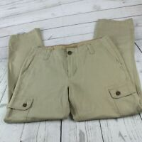 RED CAMEL Men's 32 x 30 Tan Brown Khaki Straight Fit Cargo Casual Work Pants