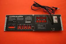 Pioneer SX-305RDS Stereo Receiver-Ersatzteil-Gehäuse-Rückwand mit Netzstecker