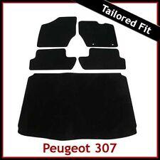 PEUGEOT 307 2001 - 2003 2004 2005 2006 2007 2008 Tailored Carpet Car + Boot Mats