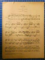 AIDA von Giuseppe Verdi 1.Holde Aida 1913 Ullstein & Co.Berlin H8235