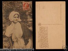 BELGIE 139.-1909 A beautiful Belgian lace-girl.