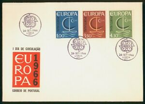 Mayfairstamps Portugal FDC 1966 Europa Sailboat Combo First Day Cover wwp_58743
