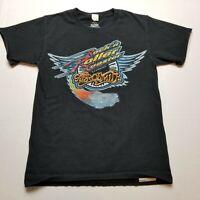 Walt Disney World Rock 'N Roller Coaster T-Shirt Mens S Aerosmith Black ?98