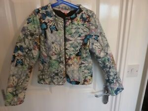 TED BAKER QUILTED JACKET - GIRLS AGE 11-12 - SUPER  LOOK!