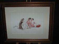 Christine Groves, Signed Art, Nursery Art, Teddy-Dolls
