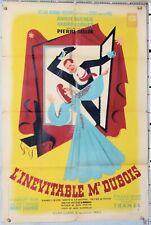 HERVE MORVAN AFFICHE ANCIENNE  L INEVITABLE Mr DUBOIS A.DUCAUX A. LUGUET ci 1943