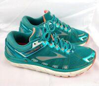 Brooks Women's Sz 9.5 Transcend 2 Running Shoes Sneakers Teal & Orange $119