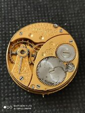 Vintage Elgin, gents watch movement manual wind, with dial, working