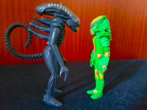 Funko ReAction Figures - Big Chap Alien & Thermal Predator - Official V RARE!
