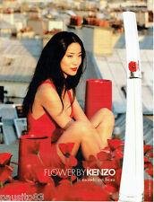 PUBLICITE ADVERTISING 056  2010  Parfum Femme Flower by Kenzo