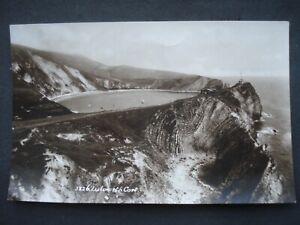 Vintage Unused Black & White Post Card Lulworth Cove