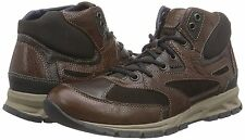 Geox Men's Delray3 U54A7B Dark brown Leather Size 11 MSRP 180$