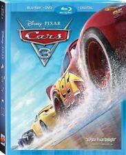 Cars 3 Blu-ray + DVD + Digital Movie / DMR Points + Slipcover