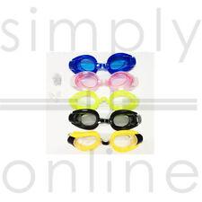 Ajustables deportivos natación adulto gafas Anti niebla lente UV tapones y pinza