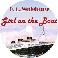 The Girl on the Boat, P. G. Wodehouse Audiobook Fiction English on 7 Audio CD