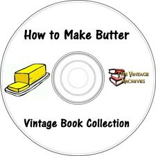 How to Make Butter - Vintage Book Collection on CD - Make Butter, Butter Making