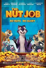 THE NUT JOB (2014) 11x17 PROMO MOVIE POSTER - WILL ARNETT, FRASER ~NEW & MINT