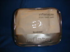 2 pc Bath Set - Inflatable - White Waffle fabric - NEW!