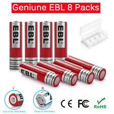 8 Pcs 18650 3.7V 3000mAh BRC Rechargeable Li-ion Battery Lithium Cells UK Seller