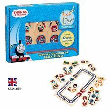 36Pcs Thomas & Friends WOODEN DOMINOES AND TRACK PUZZLE SET Jumbo Floor Gift UK