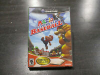 Mario Superstar Baseball Nintendo Gamecube Video Game Disc Case