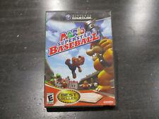 Mario Superstar Baseball Nintendo Gamecube Video Game Disc Case