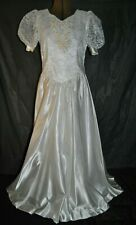 Wedding Dress or Formal Occasion - Size 6/8 -  With Bow on Back