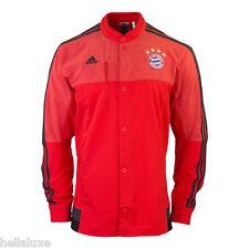 Adidas BAYERN MUNICH ANTHEM Track jersey top Soccer sweat shirt Jacket~Men sz XL