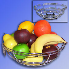 Metal Decode Basket, Large Fruit Basket ø28cm , Bowl Grid Dish