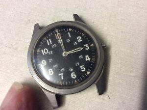 1965 Military watch DTU2A/P MIL-W-38188 Serial #044887 Mar 1965