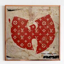 Petestreet firmado Grande Original Multi Media Octubre Rojo Wu Tang Louis Vuitton