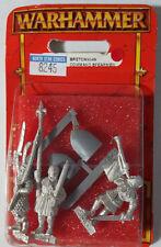 GW Warhammer Bretonnian Command Spearmen 82-45 1997 A - METAL OOP MIB (3 models)