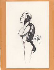 Original Art Sketch signed by Tom Raney!!!