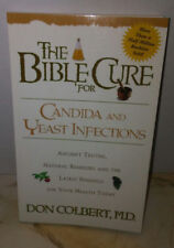 Don Colbert The Bible Cure for Candida and Yeast Infections Natural Remedy Book