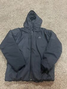 Nike ACG 4th Horseman Puffer Jacket Size M Black CV0638 010 New $600 Medium