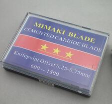 15Pcs 5x30°+5x45°+5x60° HQ Mimaki Blades Vinyl Cutter Cutting Plotter Sale