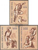 Vatikanstaat 675-677 (kompl.Ausg.) postfrisch 1976 Fresken