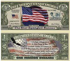 The Star-Spangled Banner Million Dollar Novelty Money