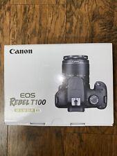 Canon EOS Rebel T100 DSLR Camera 18MP EF-S 18-55mm f/3.5-5.6 DC III