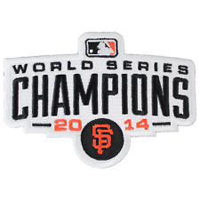 2014 Official MLB World Series Champions San Francisco Giants Jersey Patch Logo